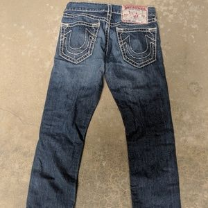 True Religion Bobby Super T Jeans size 30x30